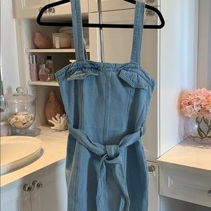 Missguided jeans dress